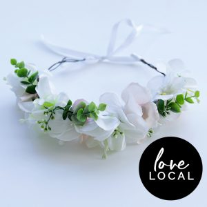 Classic Bride Flower Crown